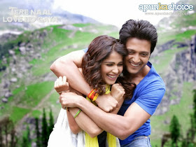 Romantic-Movie-Tere-Naal-Love-Ho-Gaya-Sweet-Couple-Genelia-Dsouza-Ritesh-Deshmukh-Wallpaper-1024x768