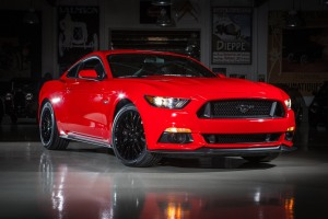 SHE GOT INSIDE THE GARAGE AND DROVE HER 2015 FORD MUSTANG