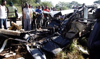 THE REMAINS WOULD REALLY PIERCE YOUR HEART. IMAGING THAT THE CAR ABOVE HAD 14 PASSENGERS ON BOARD