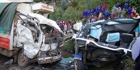 THE SCENE JUST HORRIFIES THE ADRENALINE OUT OF YOU. ITS ALL BECAUSE OF CARELESS DRIVING