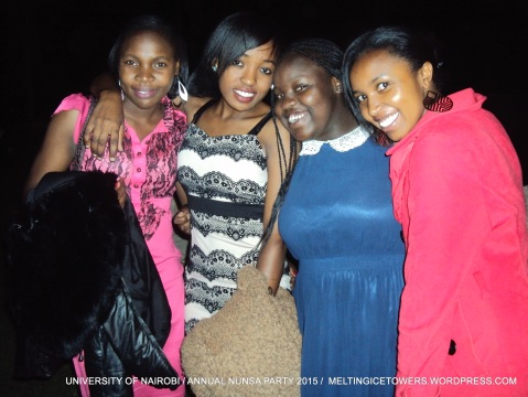 the bevy... the smiles..they were ready for the bash
