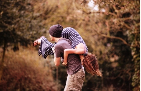 HE GOT HER UP FROM THE QUAD BIKE AND LAY HER ON THE GROUND