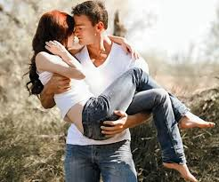 CARRYING YOU IN MY ARMS AND WALKING BY YOU WHILE WE KISS AT TIMES ..WOW!