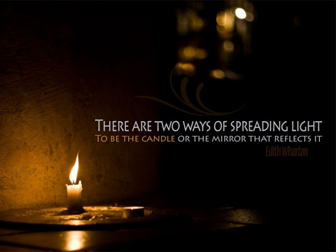 To-Be-The-Candle-Wallpapers-With-Quotes