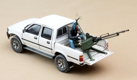 THE PICKUP WAS FITTED WITH EXCLUSIVE BAD WEAPONS