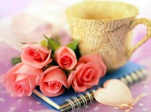 let us smell and enjoy the scent of the roses as we write our experiences together always sharing a  pen