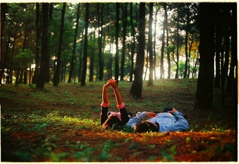 even if you are not romantic and enticing, try to be in this situation. take him places and be yourselves alone