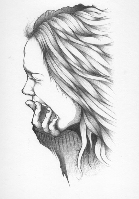 CRYING IMAGE OF A GIRL